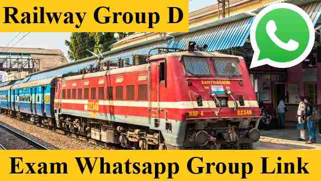 RRB RRC Railway Group D Exam Whatsapp Group Link 2021 join