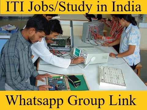 ITI Jobs Study Electrician Whatsapp Telegram Group link join 2021