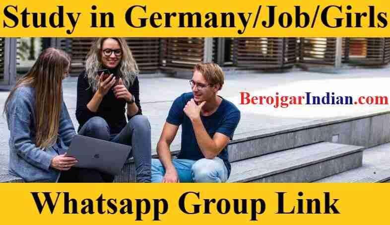 MS Bharat Study in Germany UK USA Girl Whatsapp Number List Group Link Join 2021