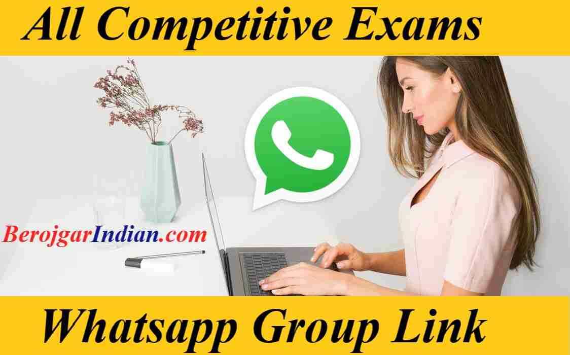 Whatsapp Group Links for all competitive exams SSC Railway bank jobs invite link 2021