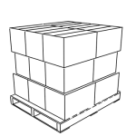 Pallet load profile 'B'