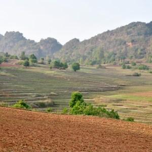Trek de Kalaw au Lac Inle, Shan, Myanmar
