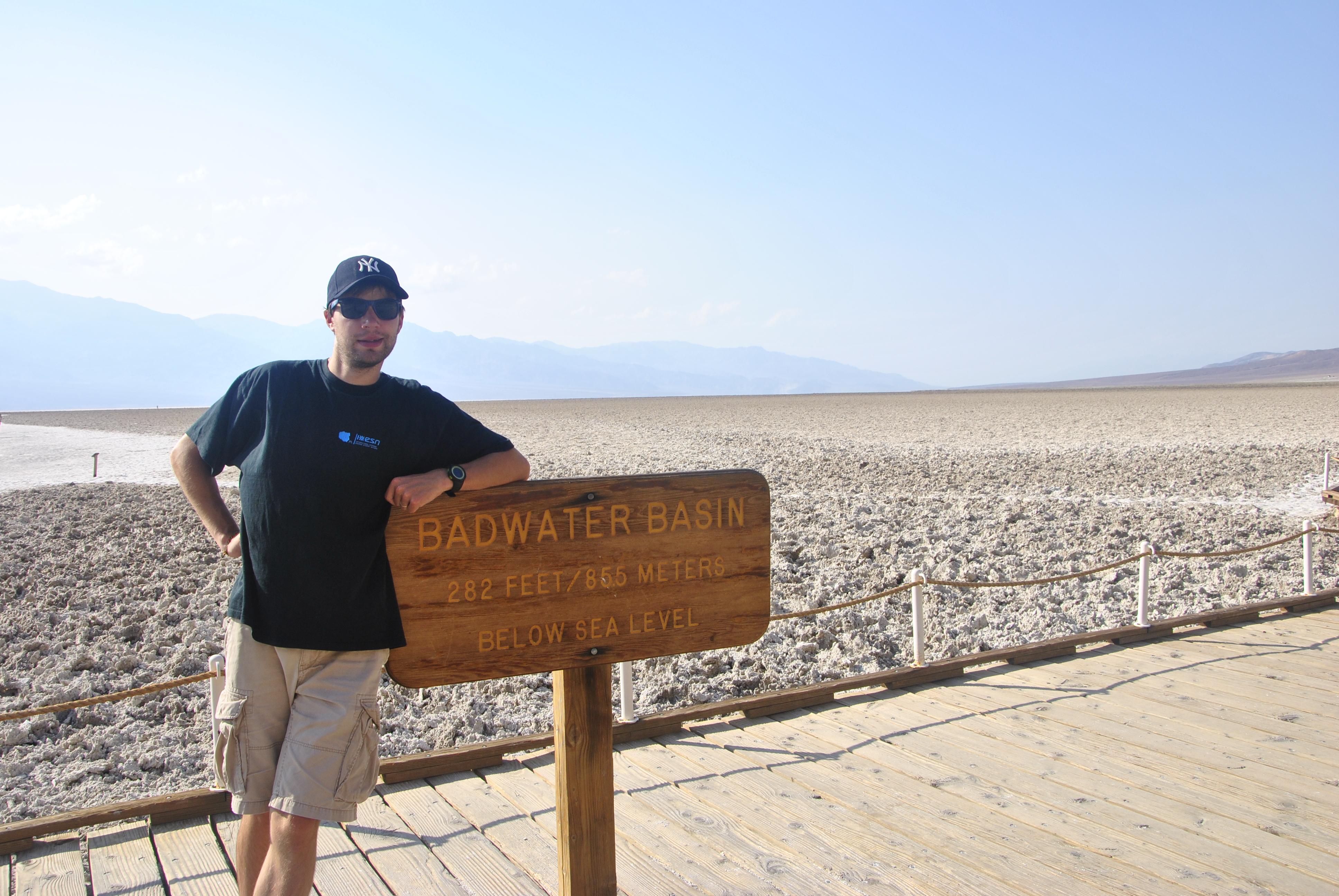Badwater Point, Death Valley NP, Californie, USA