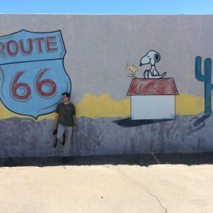 Route 66, Needles, Californie, USA