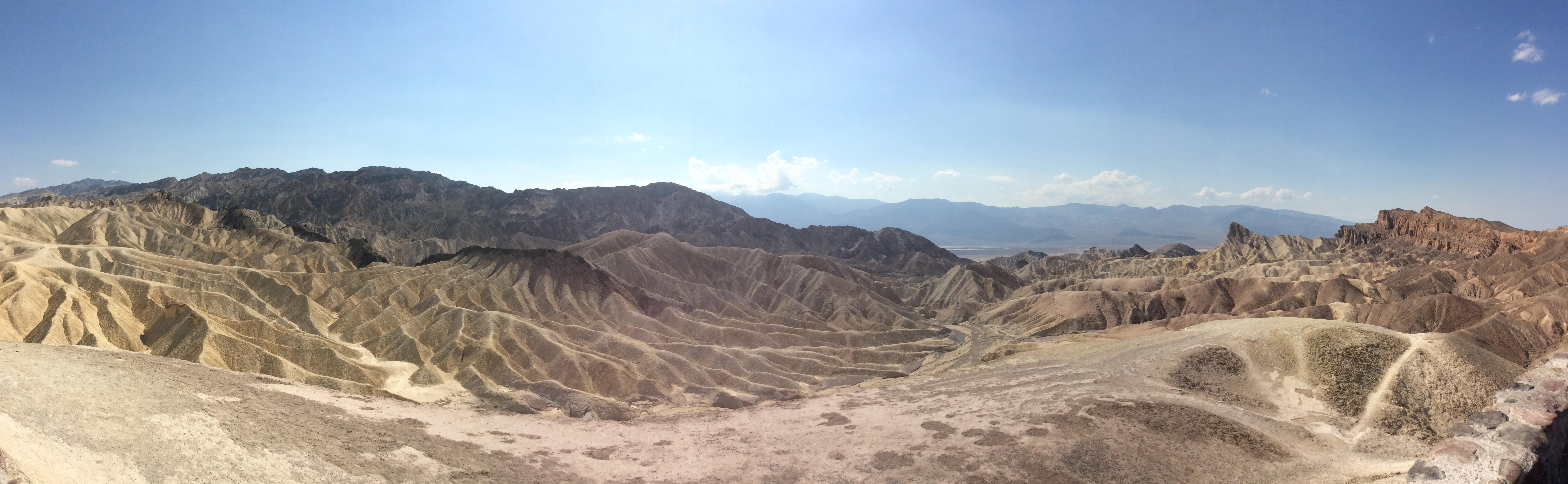 Zabriskie Point, Death Valley NP, Californie, USA