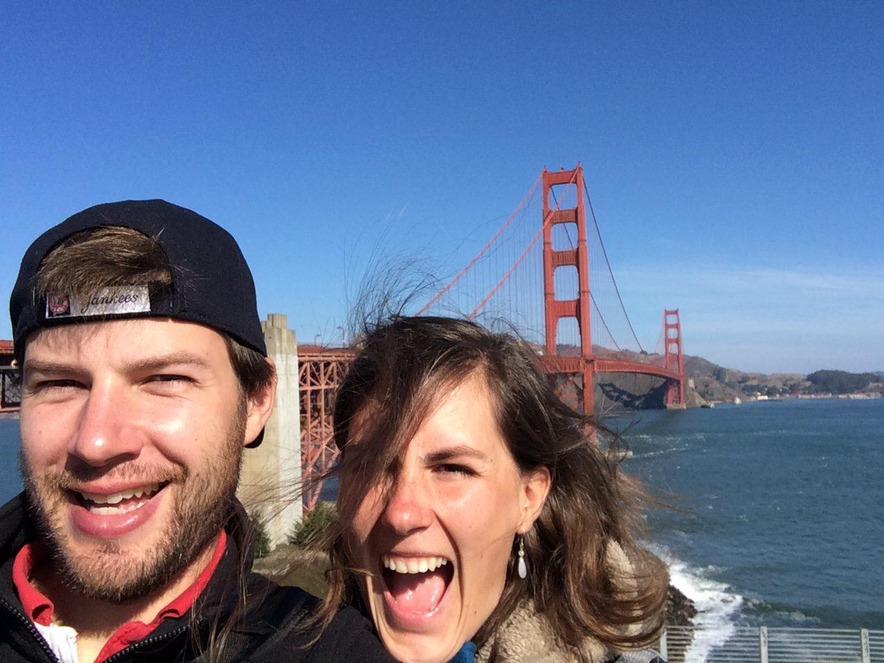 Golden Gate Bridge, San Fransisco, Californie, USA
