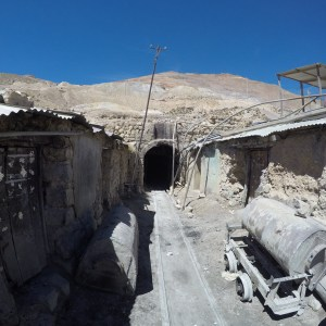 Entrée de la mine, Cerro Rico, Potosi, Bolivie