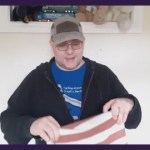 Andy B 2 Minute Video, Stripey Fabric
