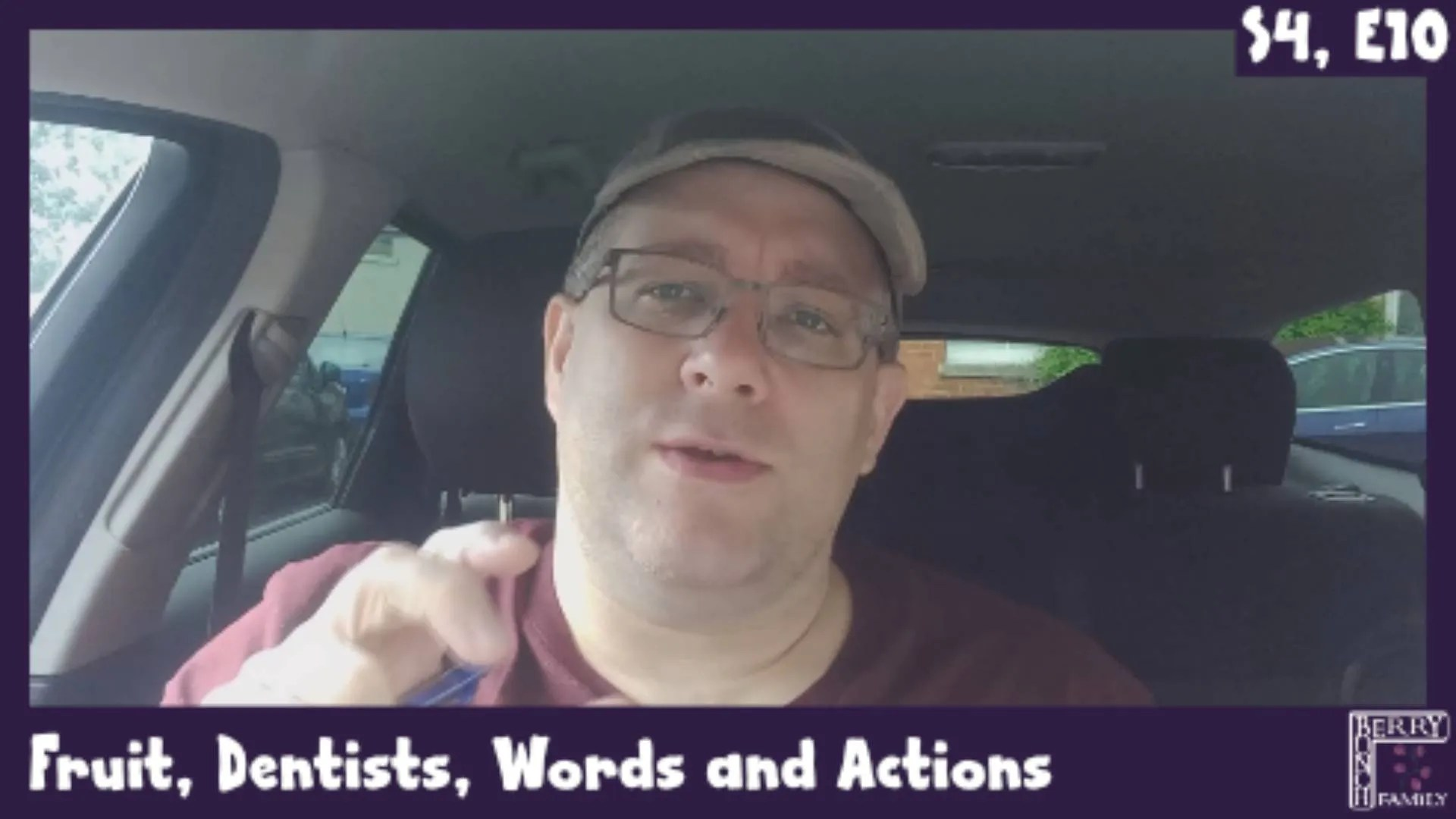 Andy B 2 Minute Video, Fruit, Dentists, Words and Actions, S4, E10