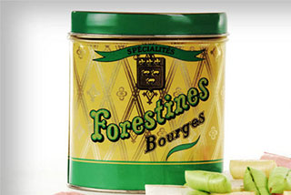Forestines De Bourges Traditionnels Bonbons Fourrs De La