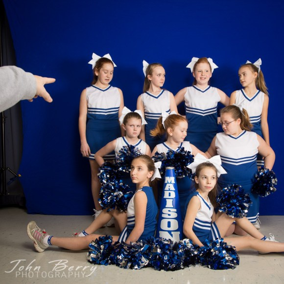 January 30, 2014:   Madison Parks and Rec Youth Cheer.