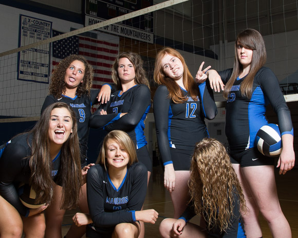 August 13, 2014.   MCHS Fall Sports Team Pictures.