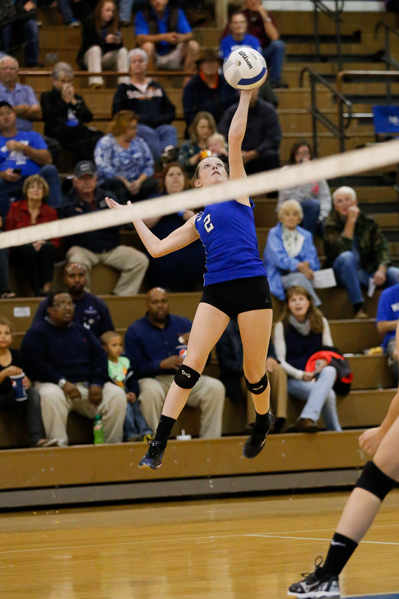 October 21, 2014.   MCHS JV Volleyball vs Central Woodstock.  Madison wins 2-0.