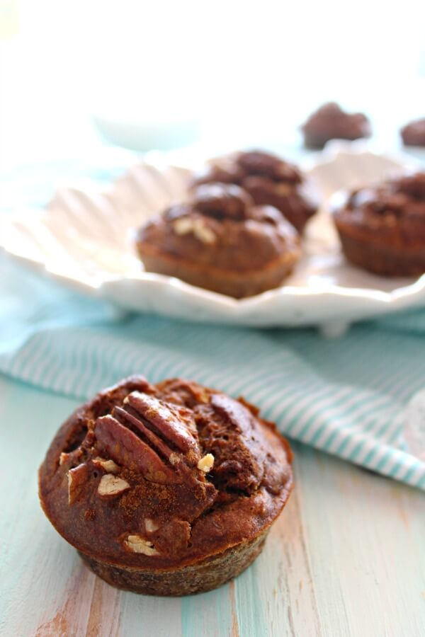 Banana Pecan & Cinnamon Muffins. The BEST banana muffins you'll ever have. Sugar Free recipe! Easy to make. Everyone will love these!   berrysweetlife.com