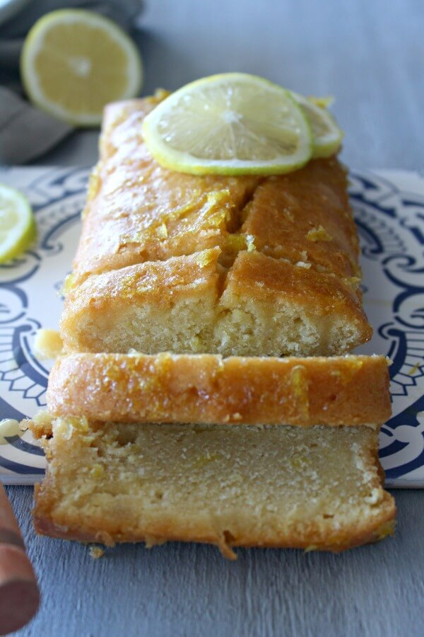 The Simplest Lemon Drizzle Loaf Cake. A melt in the mouth lemon explosion! 15 minutes to prepare, this cake couldn't be easier or more delicious! | www.berrsweetlife.com