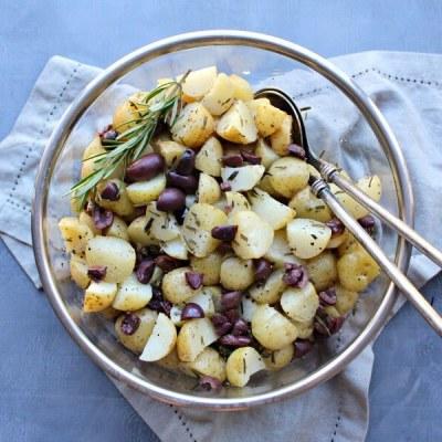 Black Olive Rosemary New Potato Salad