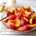 Honey Vanilla Nutmeg Summer Fruit Bake