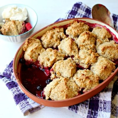 Rustic Bumble Berry Crumble Crisp