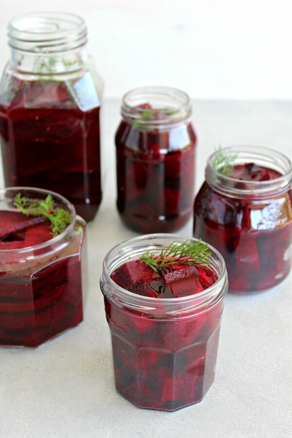 5 Ingredient Healthy Pickled Beets. Sugar free, lightly pickled, delicious Super Food beets that will last for weeks! Just under an hour to prepare | berrysweetlife.com