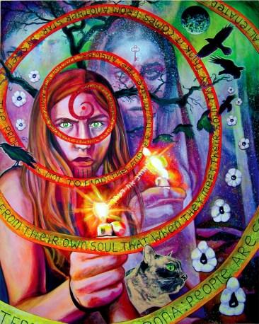 mind spiral, Published in Goblin market Irish Contemporary art book