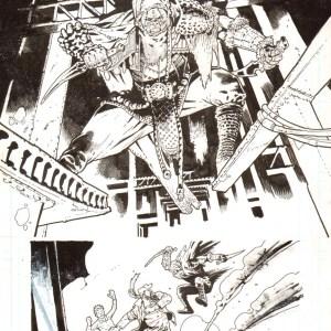 Andrei Bressan – Birthright 12p18 Comic Art