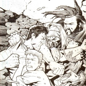 Andrei Bressan � Birthright 16 Cover art Comic Art