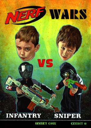 nerf wars small
