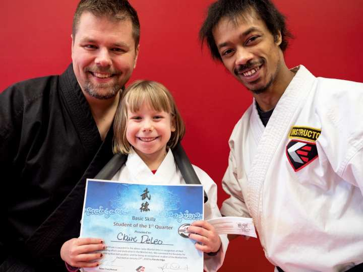 2018-01-27 Karate Edge Basic Skillz Test 11-31-00
