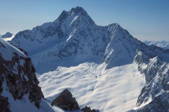 Monte Disgrazia - Corda Molla à gauche