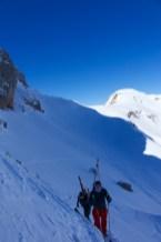 Dans le pas de Chaudin, ultime barrière avant le sommet