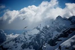 Ce qui est bien en raid à ski, c'est que les après-midi sont passées à flâner au refuge.