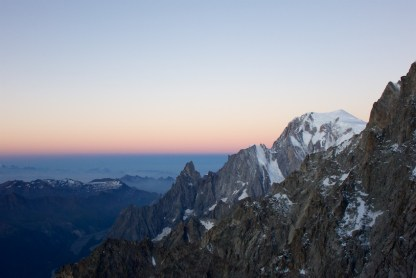 Noire et blanche de Peuterey, puis Mont Blanc