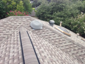 too many roof vents