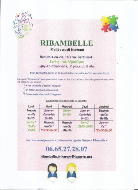 découverte de Ribambelle
