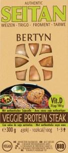 Bertyn Veggie protein Seitan Steak Vit D 300g tarwe
