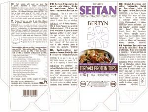 Etiket Teriyaki Protein Tops