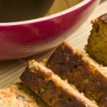 Spicy Seitan vegetarian meatloaf with thyme and oregano