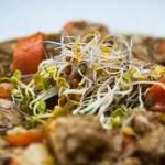 Vegetarisch stoofpotje met basmati rijst