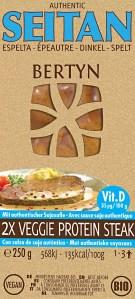 2x Veggie Protein Steak – Spelt + Vit D