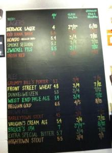 New Beer Board