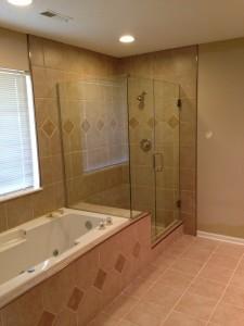 Clear Shower Door
