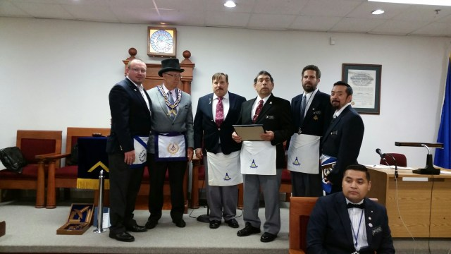 Montclaire York Rite bodies recognize W.B. Pat Coletta