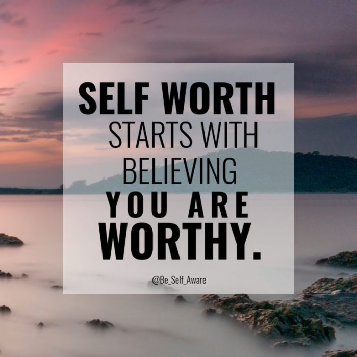BSA 13 self worth worthy