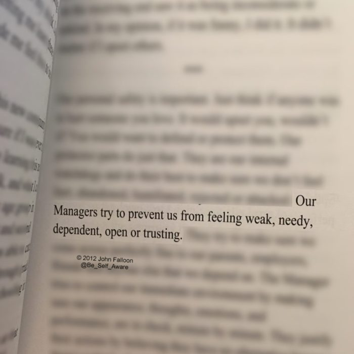 book managers prevent feeling weak