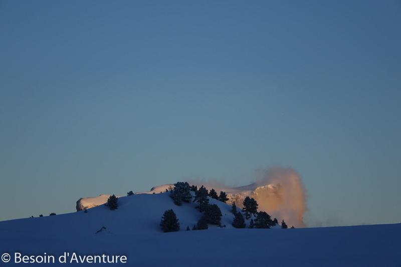 Traversée-haut-plateau-du-Vercors-a-ski-de-randonnée-nordique-mont-aiguille