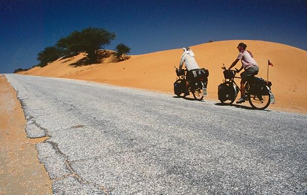 voyage à vélo - Afrique