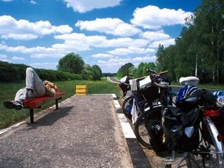 tour du monde à vélo-repos