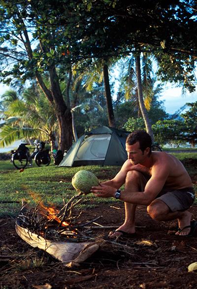 voyage à vélo tahiti