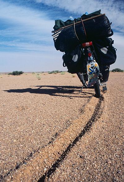 voyage à vélo piste atar choum mauritanie