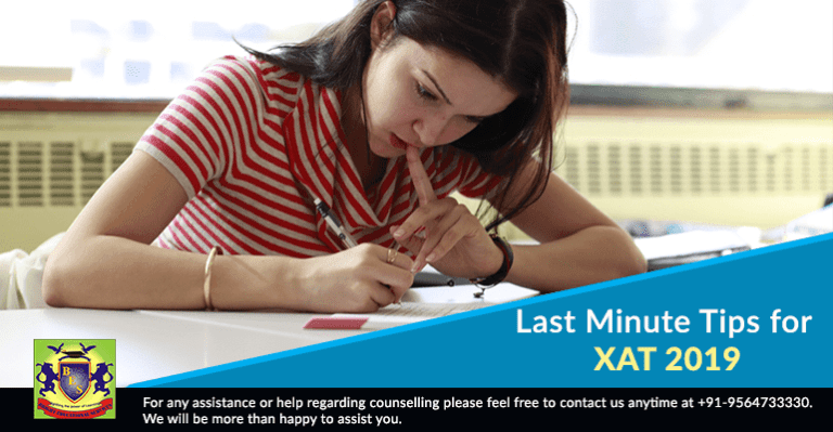Last Minute Tips for XAT 2019